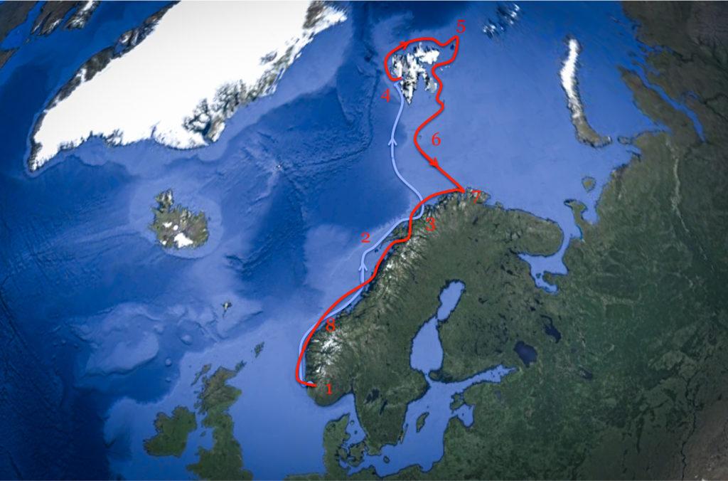 Barba - Route Svalbard