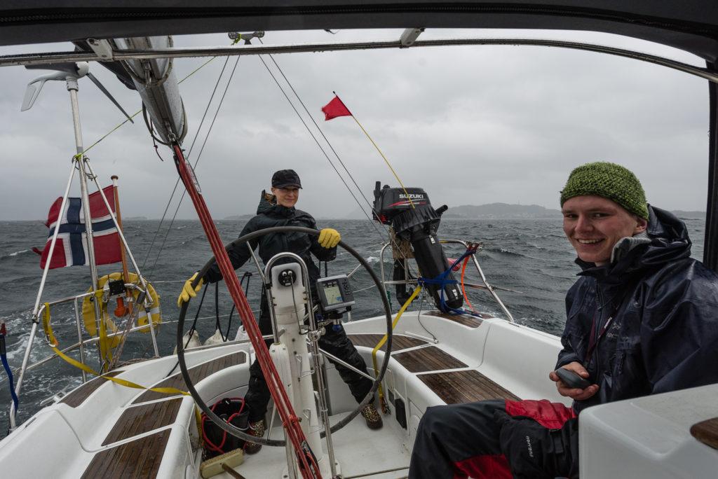 Ida steering through stormy weather