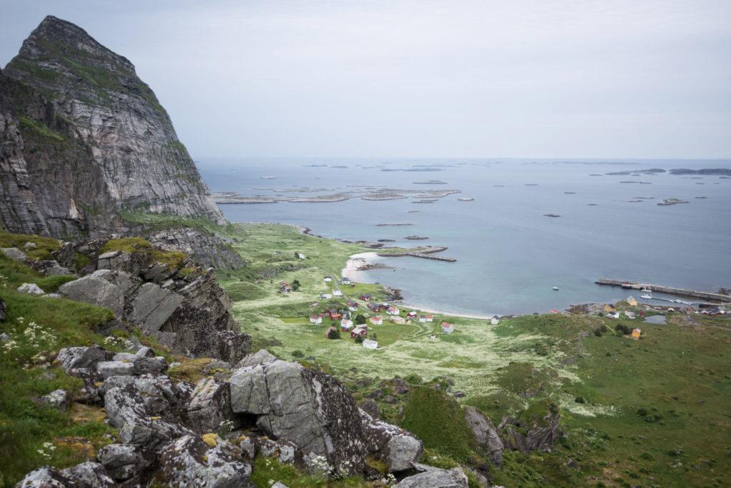 Barba at port in Træna.
