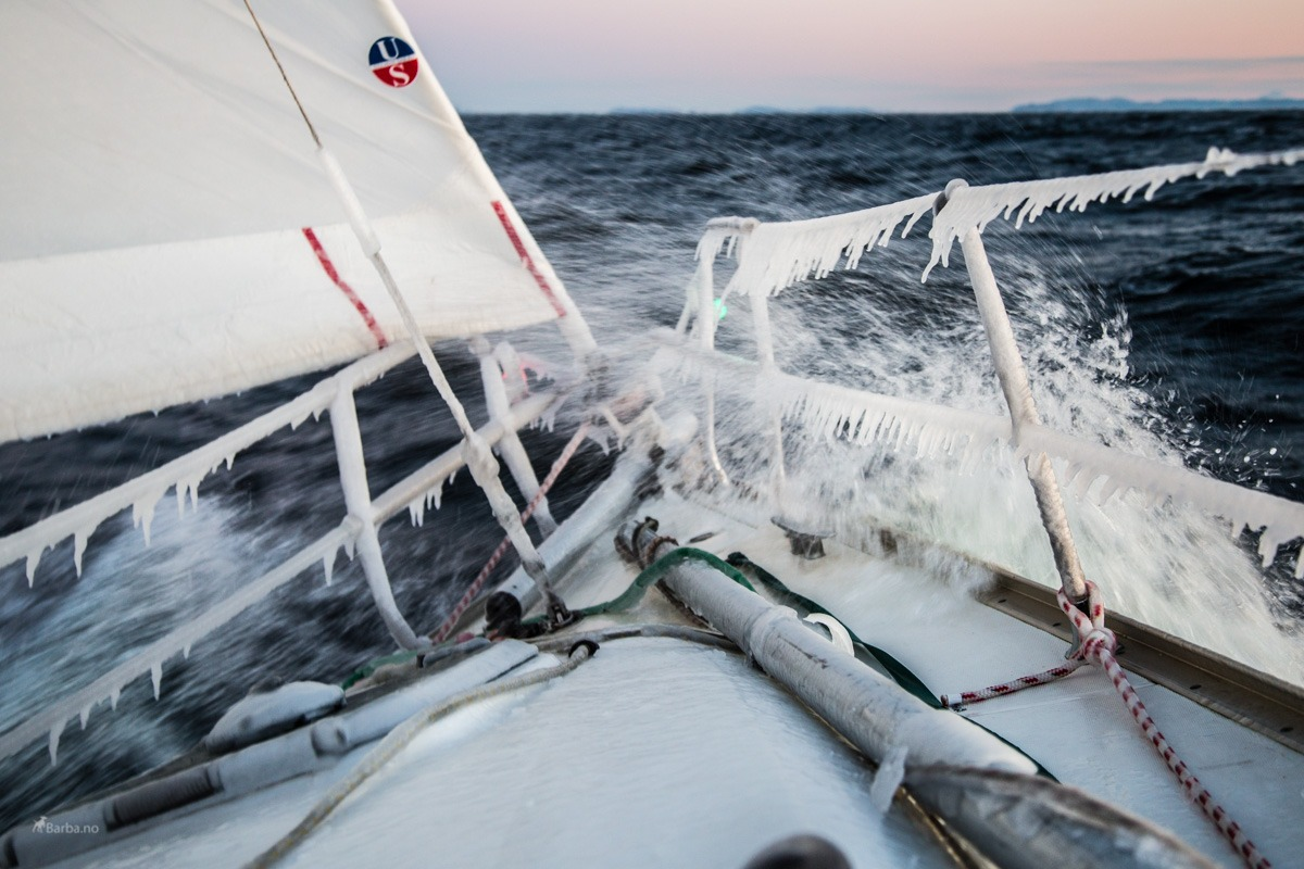 Sailing arctic Norway